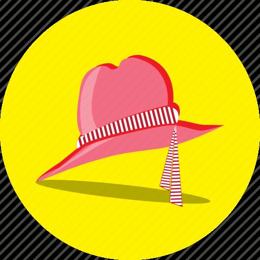 beach, faishon, girl, hat, holiday, vacation icon