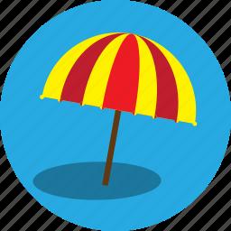 beach, beach umberlla, holiday, protection, sun bath, umbrella, vacation icon