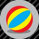 ball, basketball, beach, game, holiday, play icon
