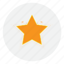 beach, best, favorite, medal, prize, star, winner icon
