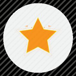 beach, best, favorite, medal, prize, star, winner icon