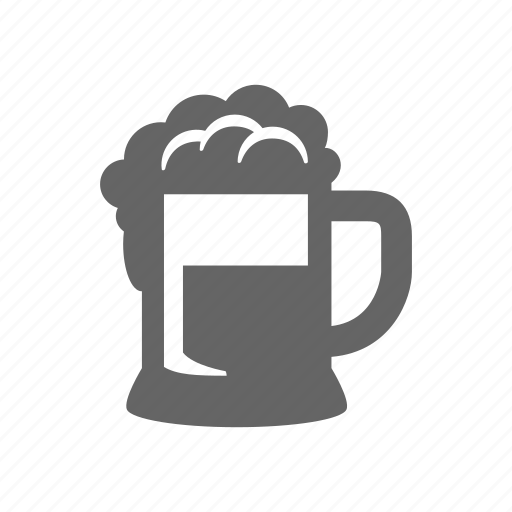 beer, beer glass, drink, glass icon