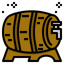 wooden, barrel, tank, beer