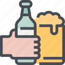 alcohol, beer, beverage, drink icon