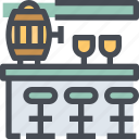 alcohol, bar, beer, beverage, drink icon