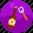 beer bottle, bottle opener, bottle, opener, beer