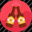 alcohol, beer bottle, bottle, drink, beer