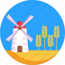 barley, beer ingredient, beer, farm, barley storage icon