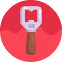 bottle opener, opener, beer icon