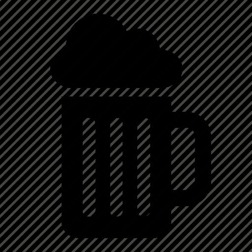 alcoholic, beer, beverage, drink, mug, stein, tankard icon