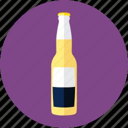 beer, bottle, corona, light beer, mexican beer icon