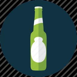 beer, bottle, lager, light beer, pale ale, pilsner, tuborg icon
