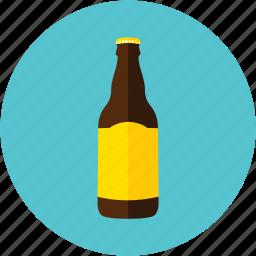 beer, bottle, grimbergen, lager, light beer icon