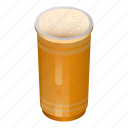 beer, cartoon, cup, isometric, party, plastic, red