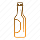 alcohol, beer, beer bottle, beverage, drink icon
