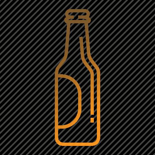 alcohol, beer, beer bottle, beverage, drink icon
