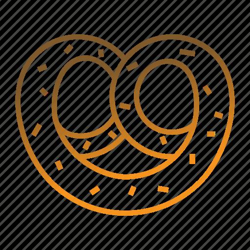 Bakery, bakery food, bread, breakfast, pretzel icon - Download on Iconfinder