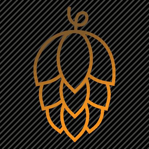 beer, brewing, hop icon