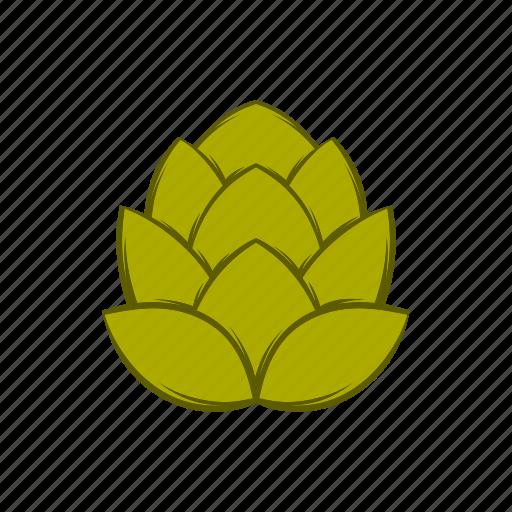 beer, botany, brew, cartoon, creeper, hop, plant icon