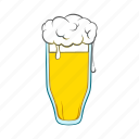 alcohol, ale, beer, cartoon, drink, glass, mug icon