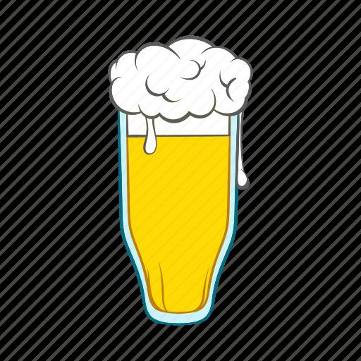 alcohol, ale, beer, cartoon, drink, glass, mug icon