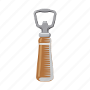 bottle, bottle opener, cap, pub, tool icon