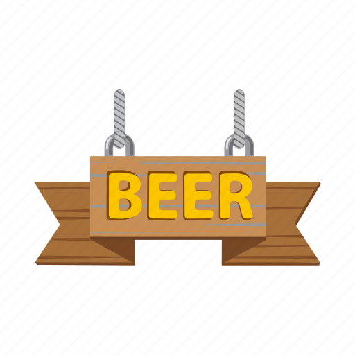 advertising, banner, bar, beer, pub, sign, signboard icon