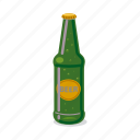 alcohol, beer, bottle, drink, pub, tableware icon