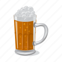 alcohol, beer, drink, glass, pub, tableware icon