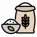 beer, carbohydrate, flour, wheat icon