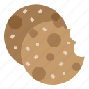 chip, chocolate, cookie icon