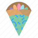 crepe, dessert, food, sweet icon