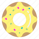 donut, doughnut, food, snack icon