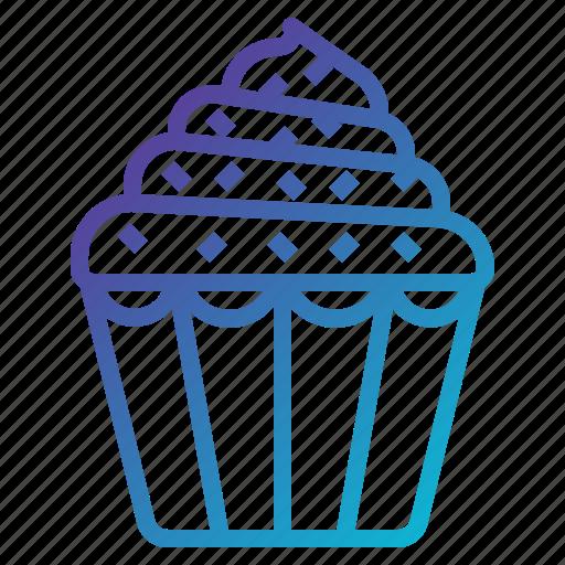 cake, cupcake, muffin icon