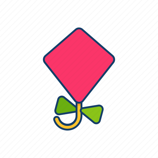 Kite, summer, flying icon - Download on Iconfinder