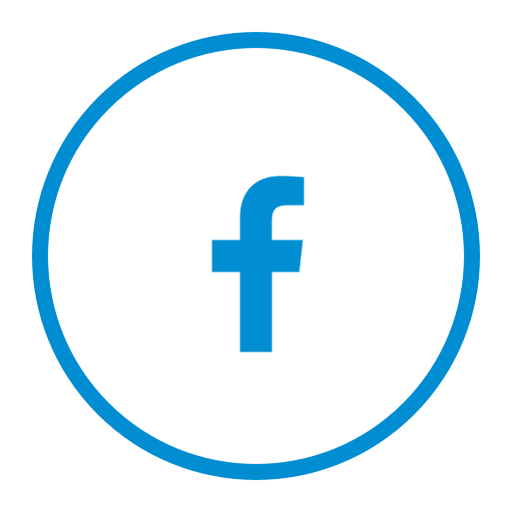 circle, circular, facebook, media, share, social icon