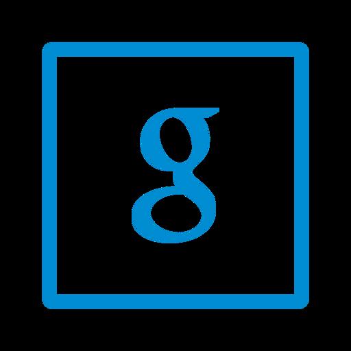 google, media, social, square icon