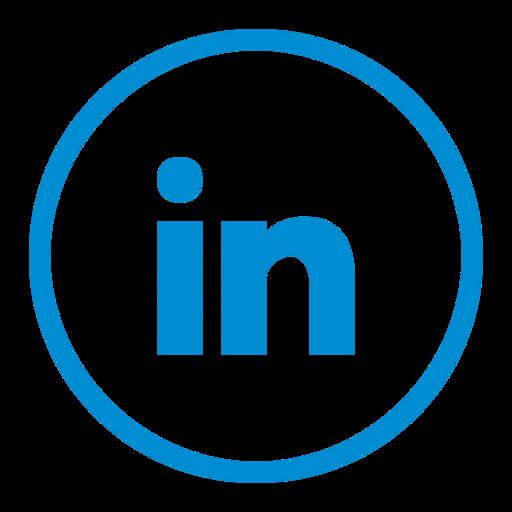 circle, circular, connection, linkedin, media, network, social icon