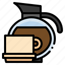 coffee, cup, drink, hot, restaurant, tea icon