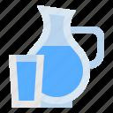 drink, food, glass, healthy, hydratation, water icon