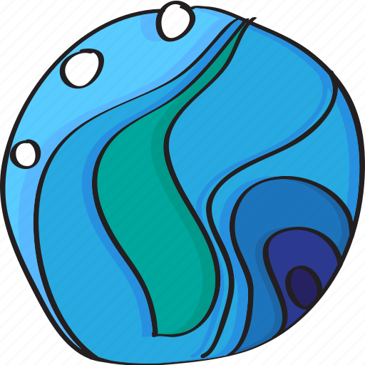 blue, decoration, ocean, sea, water, waves icon