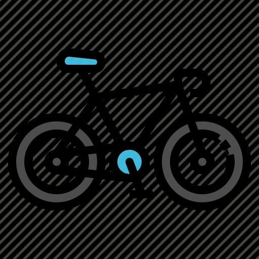 bicycle, bike, sport, transportation, vehicle icon