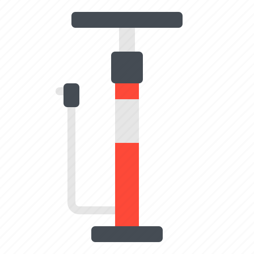 air, bicycle, gas, pump, tool icon
