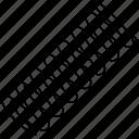 bicycle, compression, part, rear shock, spring, steel, suspension icon