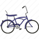 bicycle, gangster bicycle icon