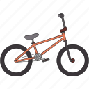 bicycle, bmx icon