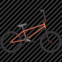 bicycle, bmx icon