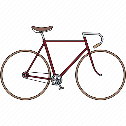 bicycle, sport bicycle icon
