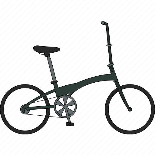 bicycle, compact bicycle icon