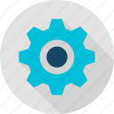 cog, cogwheel, computer, gear, mechanism, setting, wheel icon